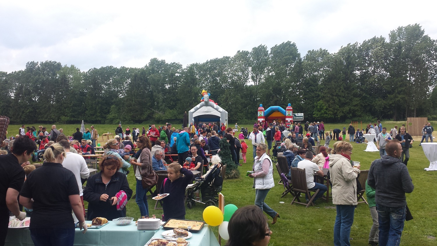 Kinderfest am Forsthaus Damerow